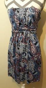 Soma Strapless Sun Dress